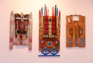 Alchemist-scholar Malik Seneferu presented this sneak peak of his exhibition of artwork entitled