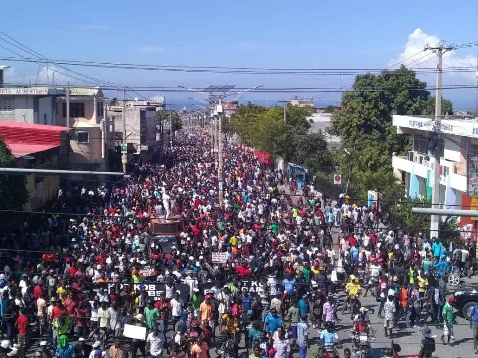 _#1 Millions N the streets N Haiti